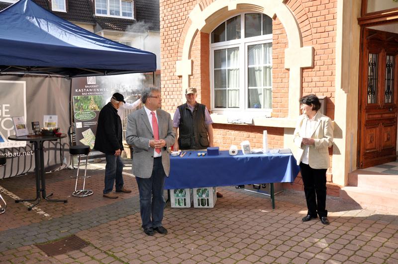 Begrüßung durch Oberbürgermeister Andreas Ludwig
