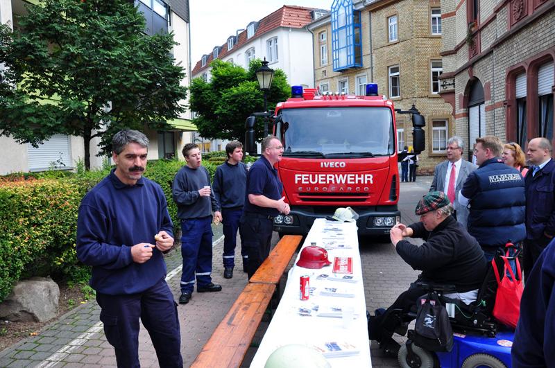 Stand der Freiwilligen Feuerwehr