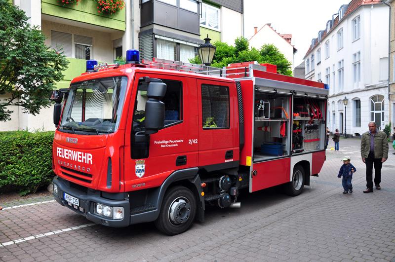 Löschfahrzeug (MLF) der Freiwilligen Feuerwehr