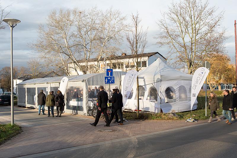 Spatenstich Neubau Schubertstrasse