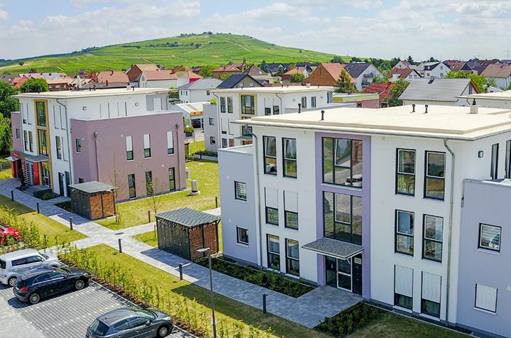 Mehrfamilienhäuser Planig