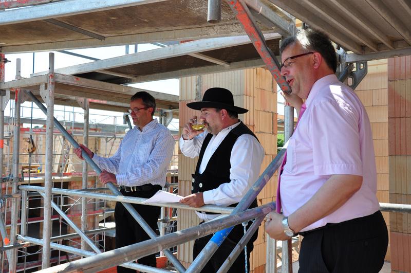 Richtfest Büttenweg 24.06.2010