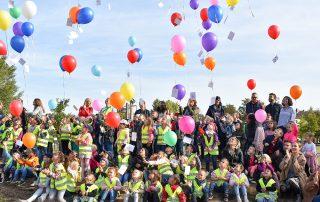 Brezel und Ballons für die Kleinen