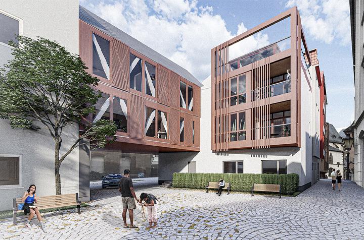 Neubau Gerbergasse 2, 2a