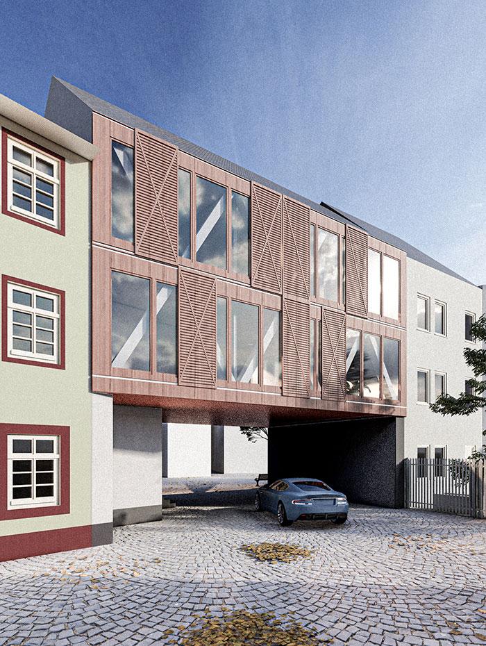 Entwurf Gerbergasse 2, 2a, Bad Kreuznach
